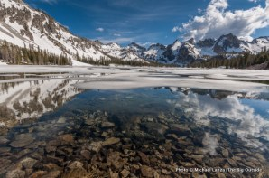 Alice Lake, Sawtooth Mountains.