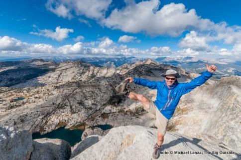 Me atop Mount Hoffman, Yosemite National Park.