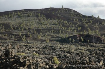 Craters of the Moon landscape.