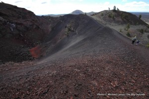 Along the North Crater Trail, Craters of the Moon.