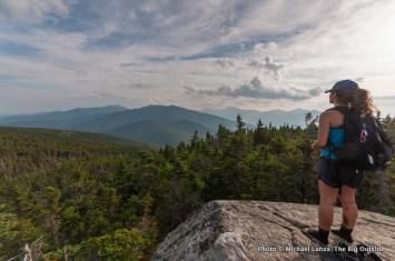 Anna on the summit of Mount Moriah.