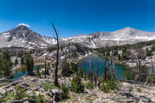 The Big Boulder Lakes basin, White Cloud Mountains, Idaho.