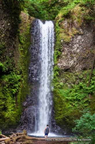 Weisendanger Falls, Multnomah Falls Trail, Columbia Gorge.