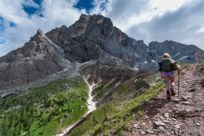 Trail 712 to Col Verde, Paneveggio-Pale di San Martino Nature Park.