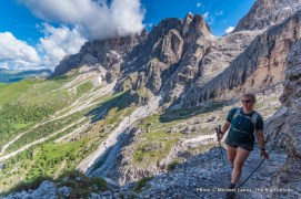 Trail 701 in Paneveggio-Pale di San Martino Nature Park.