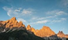 View from San Martino di Castrozza.