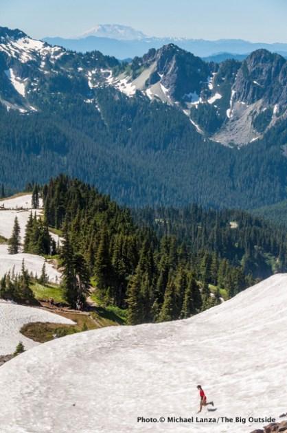 Nate at Mount Rainier National Park.