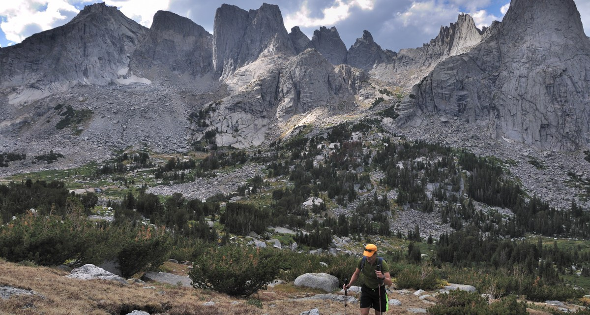 One Photo, One Story: A 27-Mile, One-Day Hike Across the Wind River Range