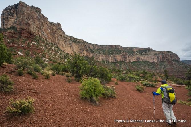 Backpacking the Royal Arch Loop, Grand Canyon National Park.