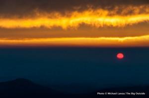 Sunrise from Cooper Spur campsite.