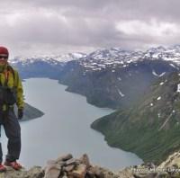 Besseggen Ridge, Lake Gjende, Jotunheimen NP, Norway