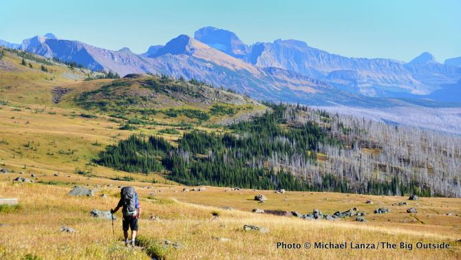Highline Trail, Glacier National Park.
