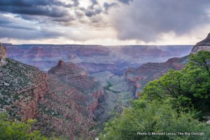 Bright Angel Trail.