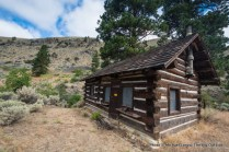 Sater Cabin, Middle Fork Salmon River Trail.