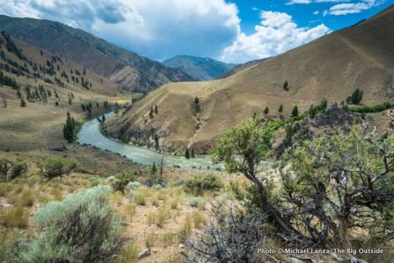View from Mahoney Ridge.
