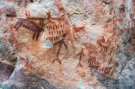Stoddard Creek pictographs.
