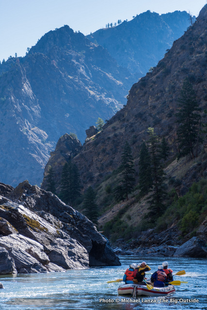 Last day, Middle Fork Salmon River.
