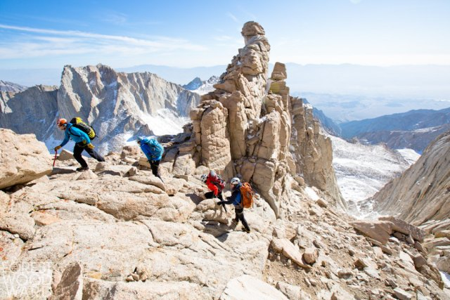 A Summit For Someone climbing party on Mount Whitney.