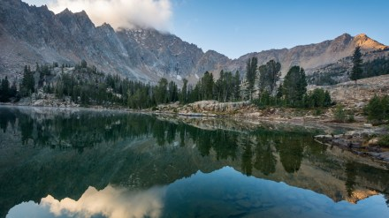 One Photo, One Story: Backpacking Into Idaho's White Cloud Mountains