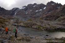 Trekking the Dientes Circuit, Chilean Patagonia.