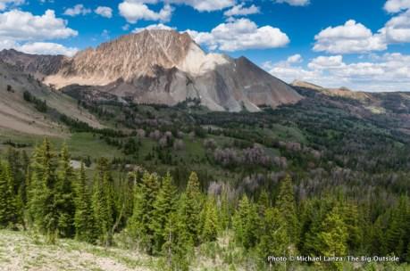 Chamberlain Basin, White Cloud Mountains, Idaho.