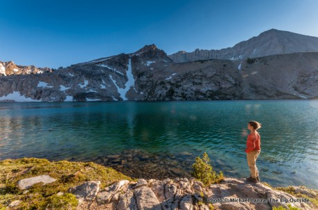 Sapphire Lake in the Big Boulder Lakes, White Cloud Mountains.