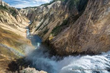 Lower Yellowstone Falls.