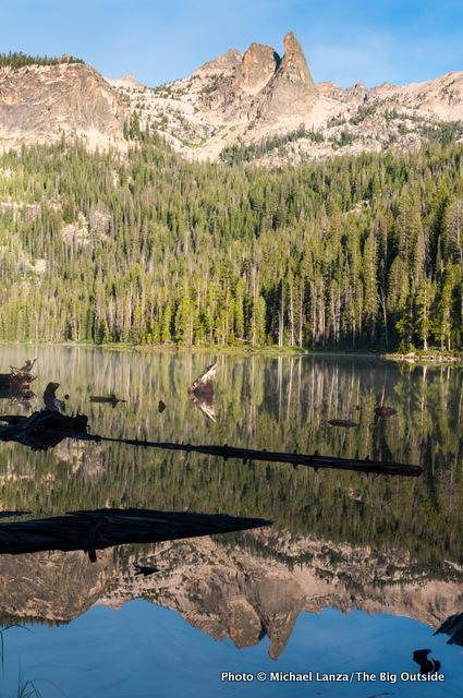 Hell Roaring Lake, Sawtooth Mountains.