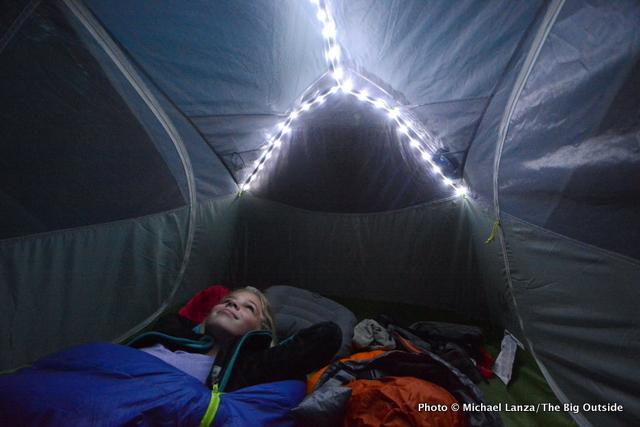 Big Agnes Rattlesnake SL2 mtnGLO tent.