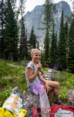 My daughter, Alex, in Kootenay National Park, Canada.