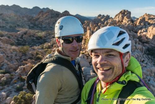 David and me atop Sail Away.