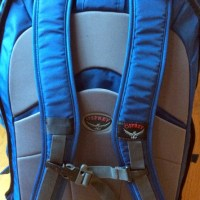 Meridian 75L daypack harness