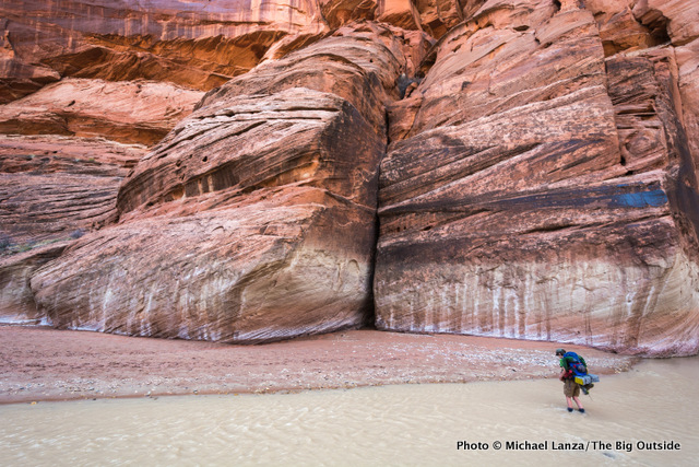 Day one, Paria Canyon.