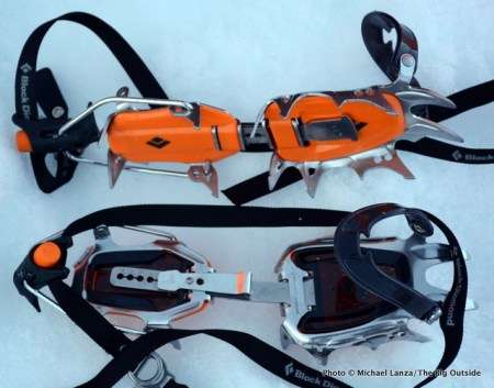 Black Diamond Serac Clip crampons.