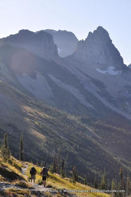 The Highline Trail, Glacier National Park.