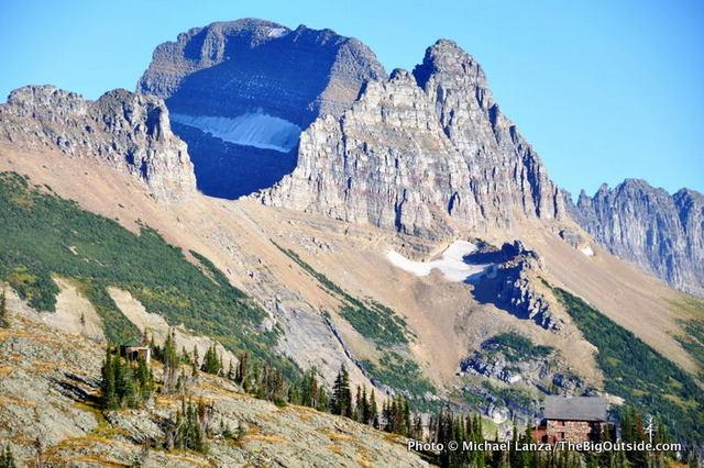 Granite Park Chalet, on the Highline Trail, Glacier National Park.