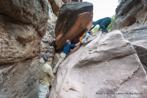 In Royal Arch Canyon.