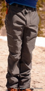 Patagonia men's Simul Alpine Pants.