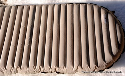 Therm-a-Rest NeoAir XTherm air mattress.