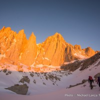 The East Face of Mount Whitney, John Muir Wilderness, California.