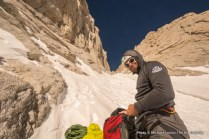 Guide Tristan Sieleman, Mountaineers Route, Mount Whitney.