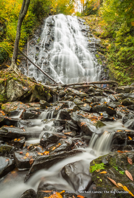 Crabtree Falls, Blue Ridge Parkway, North Carolina.