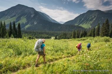 Ochre Creek Trail, Kootenay National Park