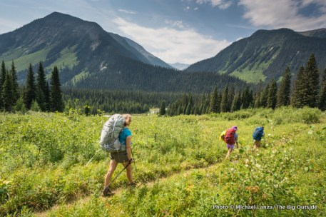 Ochre Creek Trail, Kootenay National Park