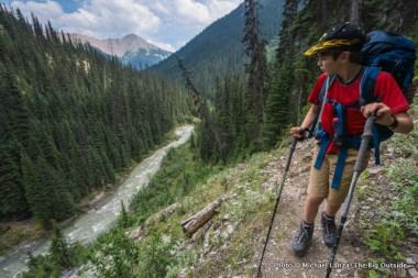 Helmet Creek Trail, Kootenay National Park.