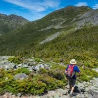 Marco hiking the Osgood Trail.