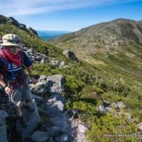 Marco hiking Mount Jefferson.