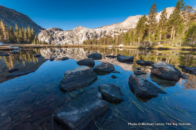 Lower Little Five Lakes, Sequoia National Park.