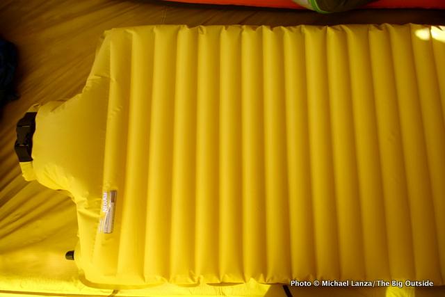 Therm-a-Rest NeoAir XLite MAX SV air mattress.
