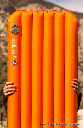 Big Agnes Insulated Air Core Ultra air mattress.